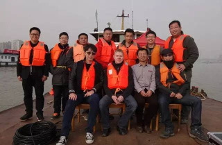 Multi-mode sonar system commissioning on Yangtze